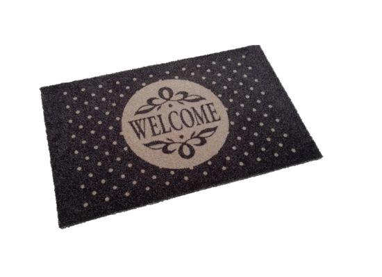 Deurmat Deco-soft Welcome 40x60cm