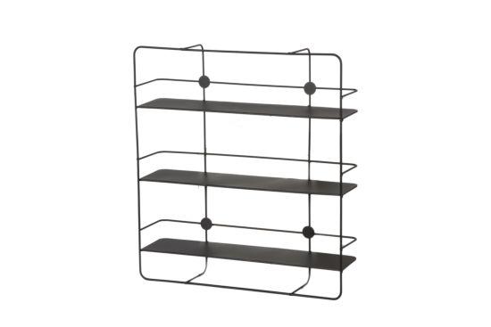 Wandrek Award 50x12,5x55cm zwart