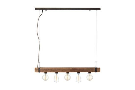 Plafondluster Woodhill 110x80cm