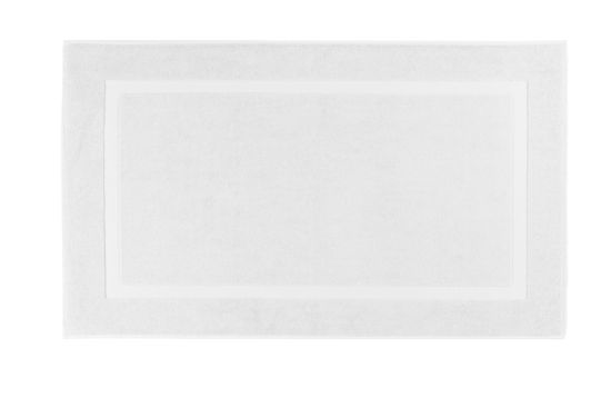 Badmat Una 60x100cm white
