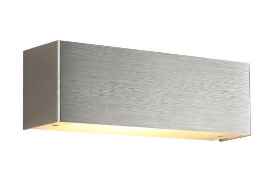 Wandlamp brushed aluminium 10W  R7S