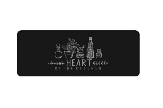 Tapijt Heart of the kitchen 50x120cm