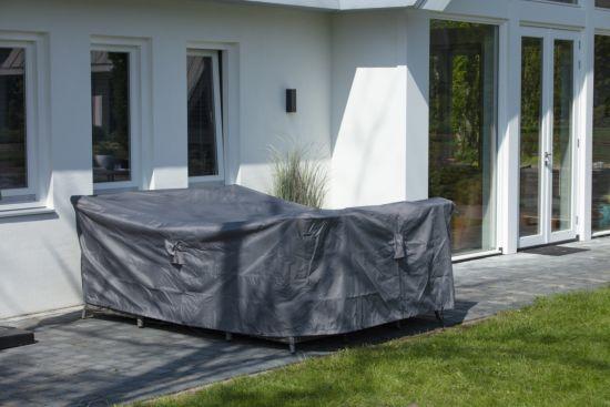 Beschermhoes 255x255cm grijs