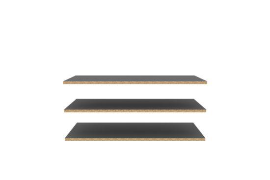 Legplank set van 3