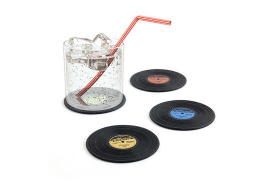 Onderzetters voor glazen LP Ø9cm, set van 4