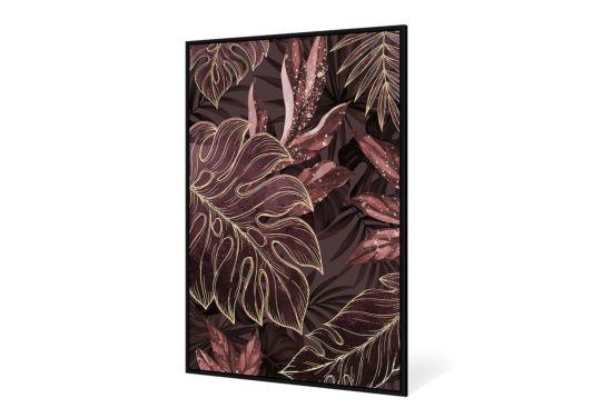 Print op canvas Jungle Fever 82,6x122,6cm