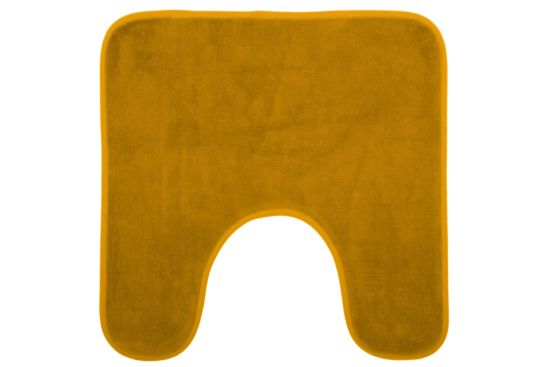 Wc-mat Geel  48x48cm geel