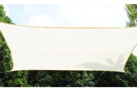 Schaduwdoek 360x360cm crème