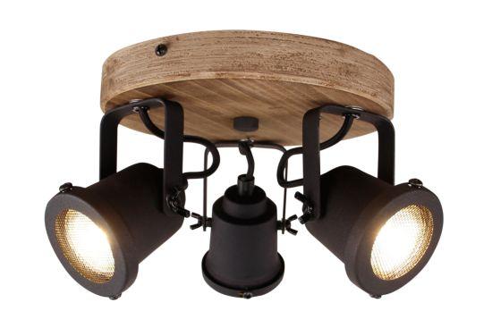 LED spot Inge met 3 spots 3x6W GU10