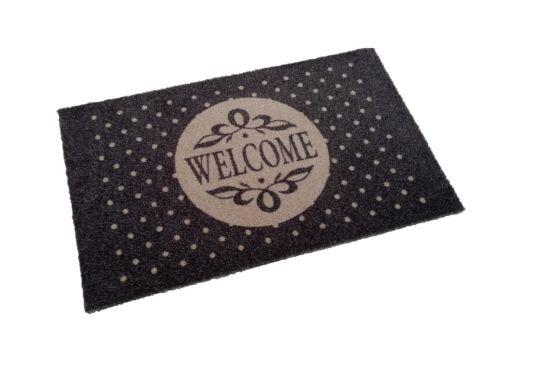 Deurmat Deco-soft Welcome 50x80cm