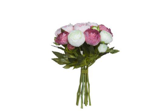 Kunstbloem Ranunculus H22cm