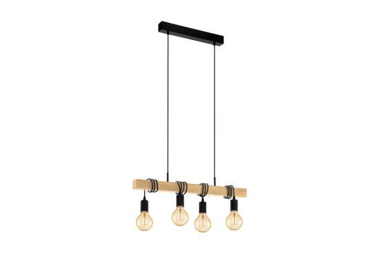 Hanglamp Townshend 110x70cm 4x60W E27