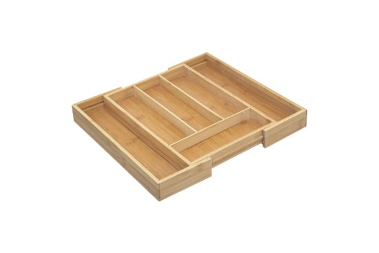 Bestekbak Bamboe 35x25/39,2cm