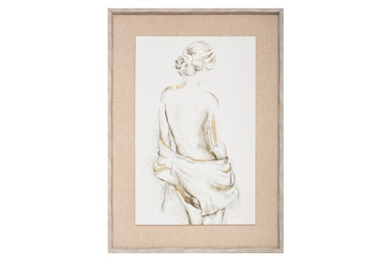 Print op canvas Nude 53x73cm