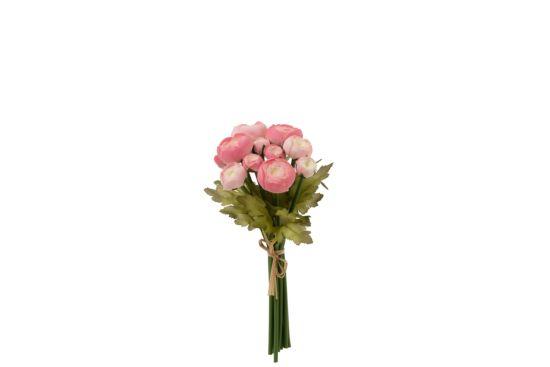 Kunstbloem Boeket Camellia  H26cm