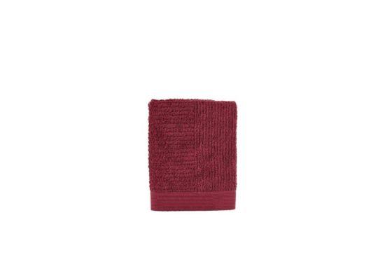 Handdoek 50x70cm maroon