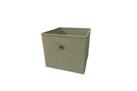 Opbergbox Aha 25x25x22cm grijs