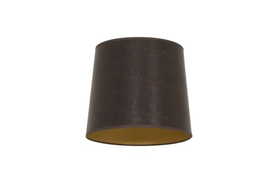 Lampenkap Ø30cm donkerbruin
