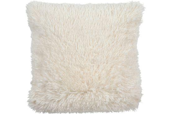Kussen Fluffy 45x45cm ivoor
