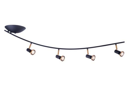 LED spot met 4 spots 5W GU10