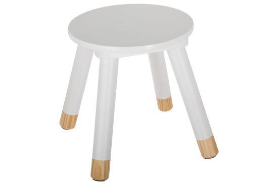 Kinderstoel wit