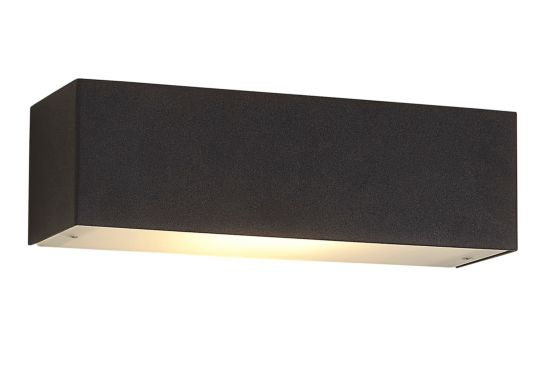Wandlamp zwart 10W R7S