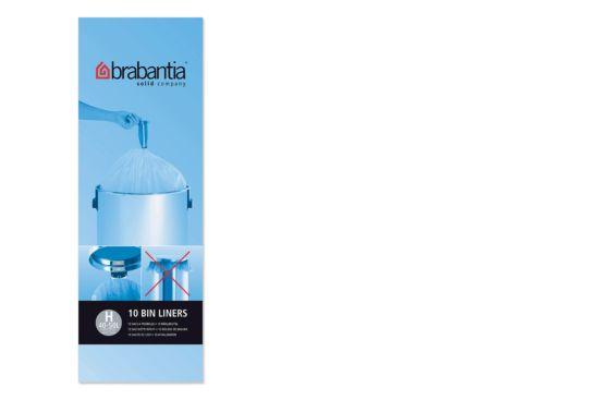 Afvalzak Brabantia 50L maat H 10 stuks
