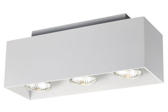 LED spot met 3 spots 5W GU10 wit