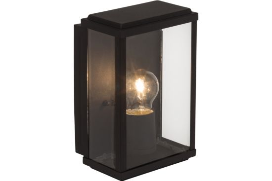 Wandlamp buiten Gaia zwart 60W E27