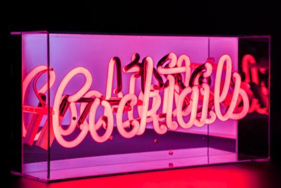 Neon lamp Cocktails H22cm