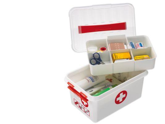 Opbergbox First aid  30x20x14cm