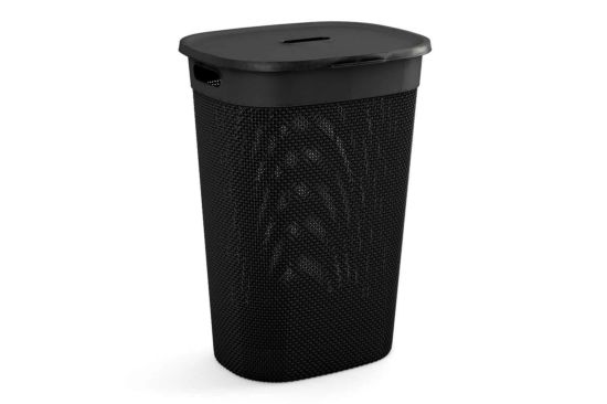 Linnenmand Filo 44x35x61cm zwart