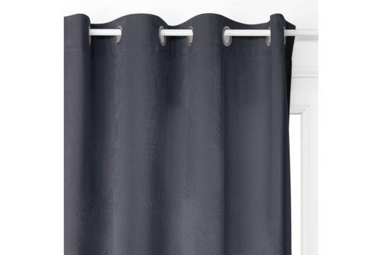 Gordijn Blackout 140x260cm Donkergrijs
