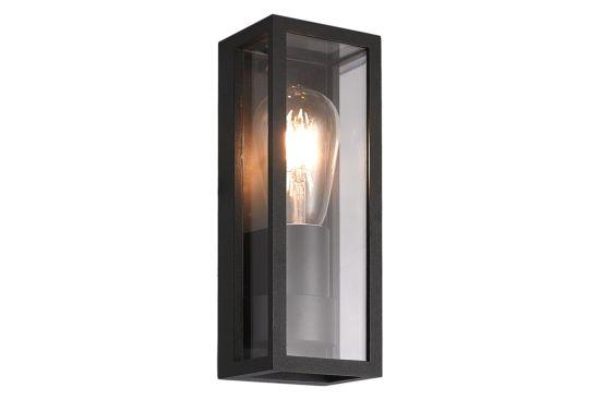 Wandlamp zwart 15W E27