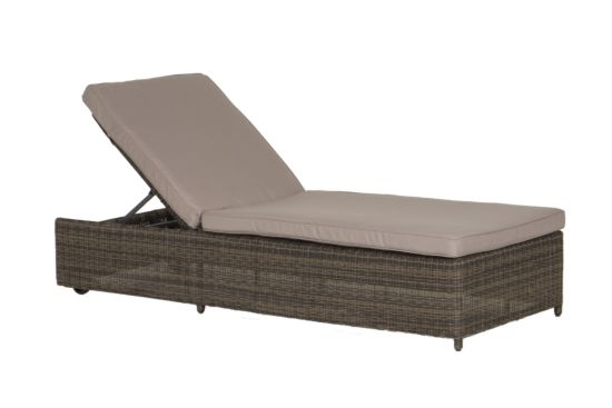 Ligbed Beach wicker mokka/taupe