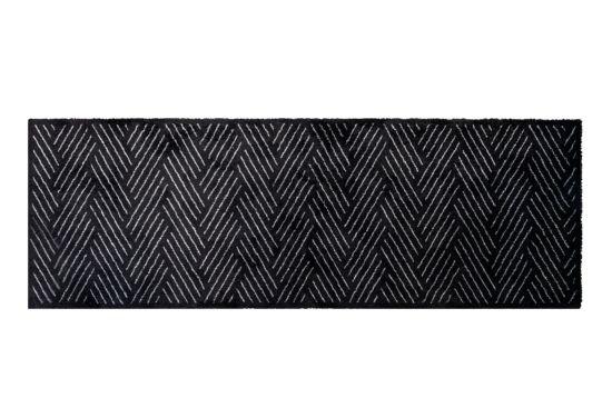 Keukenloper Decosoft 50x150cm zwart wit