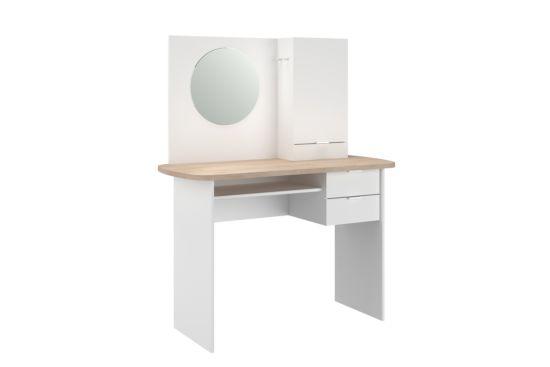 Make-up tafel Estelle met spiegel 110x50x130cm