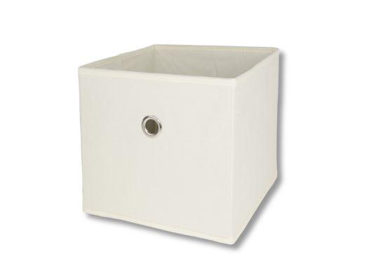 Opbergbox Aha 25x25x22cm beige