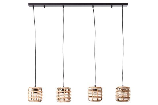 Hanglamp Crosstown 110x16,5cm 4x40W E27