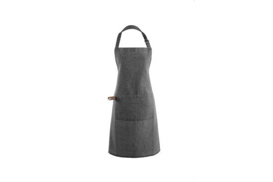 Keukenschort Myrna 74x85cm donker grijs