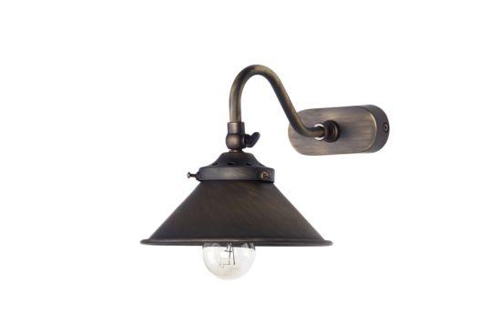 Wandlamp Brons 60W E14
