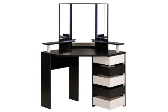 Make-up tafel Volage met spiegel 114x114x142cm