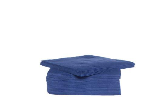 Servet CT Prof 38x38cm blauw, 40 stuks