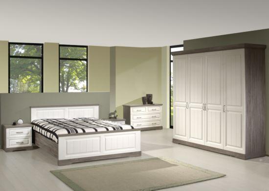 Slaapkamer met bed 160x200cm