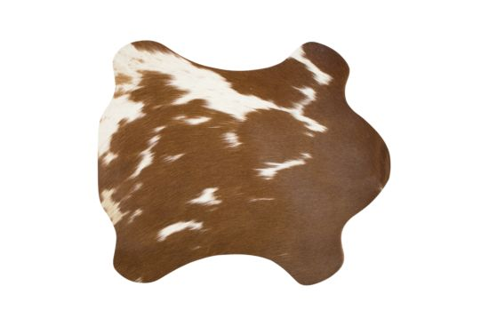 Placemat Koe 30x48cm bruin wit