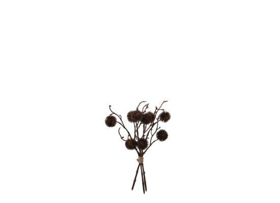 Kunsttak Pompom H32cm