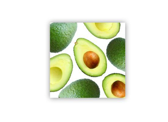 Servet Avocado 33x33cm groen