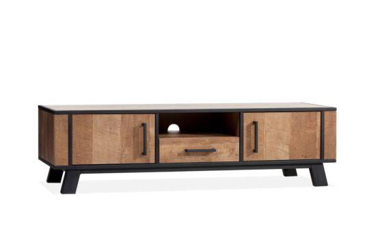 Industrieel tv-meubel Country 168cm