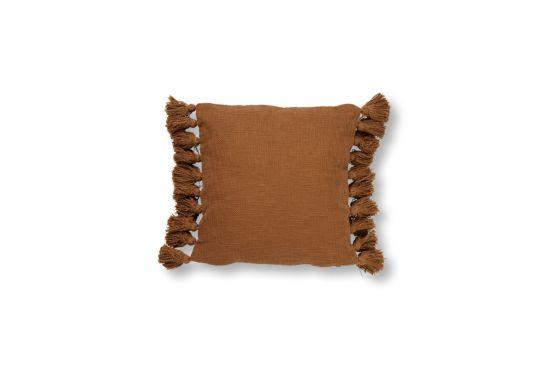 Kussen Ruby 45x45cm tobacco brown