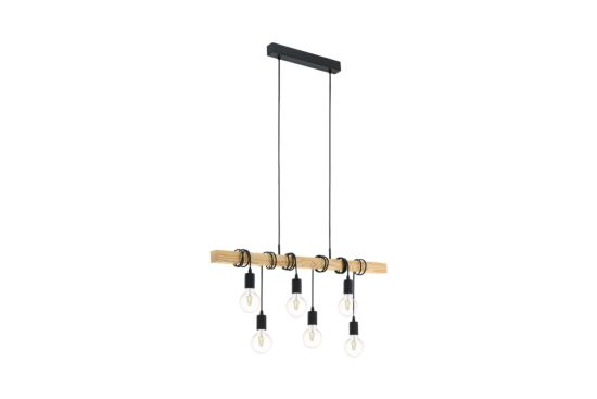 Hanglamp Townshend 110x100cm 6x60W E27